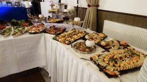 Räucherfisch Buffet